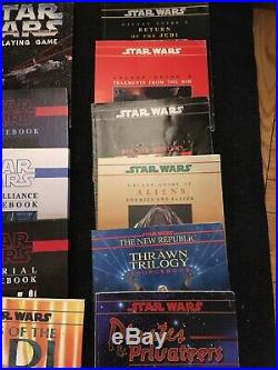 Star Wars RPG West End Lot 15 Books Rebel Imperial Otherspace Jedi Sourcebook