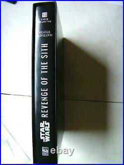 Star Wars Revenge of the Sith, Limited Edition AUTOGRAPHED with Slip Cover