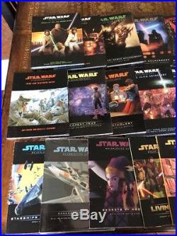 Star Wars Roleplaying Game Bundle Wizards d20 16 Books + Accessories