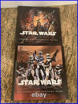 Star Wars Roleplaying Game Saga Edition Huge Lot 14 Books