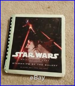 Star Wars Saga Edition d20 rpg 11 books plus screen