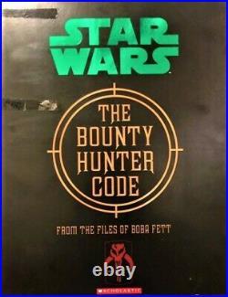 Star Wars THE BOUNTY HUNTER CODE Boba Fett MANDALORIAN VAULT EDITION VERY RARE
