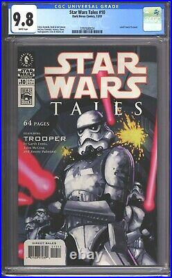 Star Wars Tales #10 CGC 9.8 (2001) Leinil Francis Yu Cover RARE Comic Book