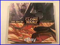 Star Wars The Art Of Clone Wars Hardcover Book Lucas Rare
