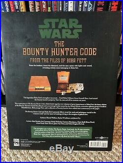 Star Wars The Bounty Hunter's Code From The Files of Boba Fett Deluxe Vault Ed