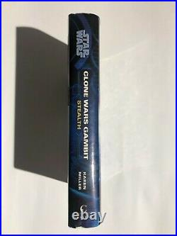 Star Wars The Clone Wars Gambit Stealth Hardcover RARE