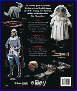 Star Wars The Last Jedi Visual Dictionary by Pablo Hidalgo Hardback Book New