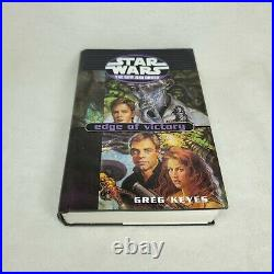 Star Wars The New Jedi Order Series Hardcover Book Lot of 13 Complete 1-19 w DJ