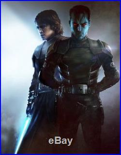 Star Wars Thrawn Alliances Variant Signed Hardcover Book Del Rey 2018 SDCC Exc