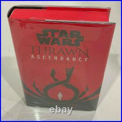 Star Wars Thrawn Ascendancy Chaos Rising Book 2 Signed Timothy Zahn 1st Print