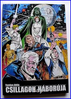 Star Wars Trilogy Hungarian Bootleg Comic book SIGNED Hard cover Limited of 500