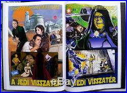 Star Wars Trilogy Hungarian Comic book SIGNED hard cover limited of 500