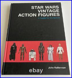 Star Wars Vintage Action Figures A Guide for Collectors John Kellerman Book RARE