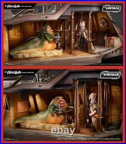 Star Wars Vintage Collection Jabbas Sail Barge COMPLETE with Yak Face & Book NIB
