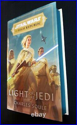 Star Wars the High Republic Light of the Jedi Goldsboro Signed Limited Soule