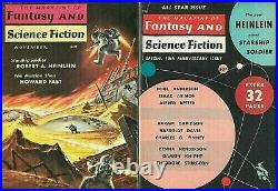 Starship Troopers by Robert Heinlein Suntup Artist Edition with two bonus books