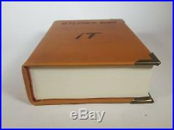 Stephen King IT Hardcover Book Custom Leather Bound Edition