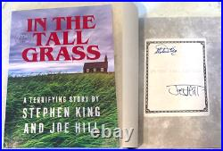 Stephen King & Joe Hill Signed'in The Tall Grass' Novella Book Indie Book Exclu