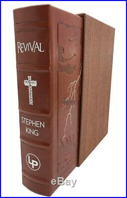 Stephen King Revival Hardcover Book Slipcase Limited Edition Factory Sealed
