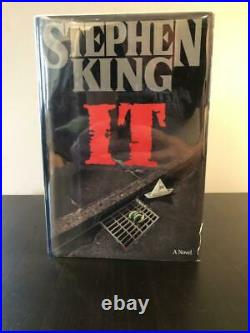 Stephen King Signed Autograph It Book, Novel 1st/1st First Edition/printing