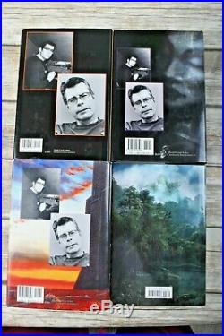 Stephen King THE DARK TOWER All 8 books 1st/1st First four are Viking revised