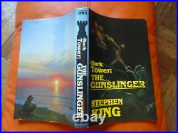 Stephen King The Dark Tower The Gunslinger rare FIRST EDITION book collectible