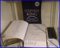 Stephen King Under The Dome SIGNED RARE HARDBACK BOOK Waterstones 150/500
