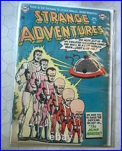 Strange Adventures #40 DC Comic Book 1954 pch precode Golden Age Sci-Fi Ungraded