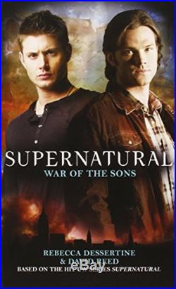 Supernatural War of the Sons by Rebecca Dessertine Paperback Book The Cheap