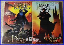 THE DARK TOWER Comic Book Lot Stephen King The Gunslinger Marvel