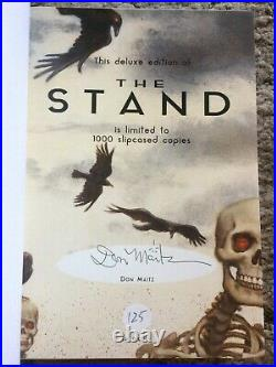 THINNER + THE STAND Stephen King 3 vol/slipcased HC eds MATCHING #'s both OOP