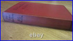 TIME MACHINE by H G WELLS 1924 Sci-Fi author of War of the Worlds ANTIQUE BOOK