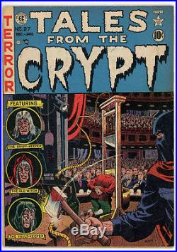 Tales From the Crypt #27 (EC, Dec'51-Jan'52) Pre-Code Horror Comic Book