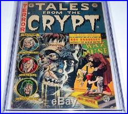 Tales From the Crypt #34 Universal Grade Ray Bradbury Adaption Frankenstein Book