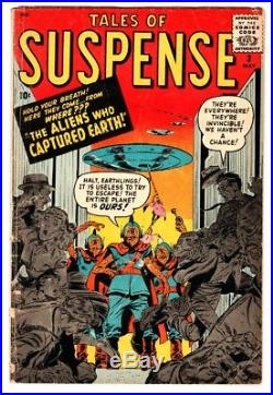 Tales of Suspense #3 1959-Marvel-Jack Kirby-FLYING SAUCER cover-comic book