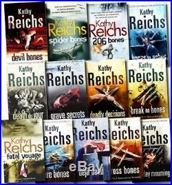 Temperance Brennan Collection Kathy Reichs 13 books Deja Dead Death Du Jour, AU