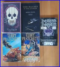 Terry Pratchett 27 Book Lot Hardcover Paperback Discworld Collection Bulk