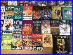 Terry Pratchett The Complete Discworld in Hardback 60 Books