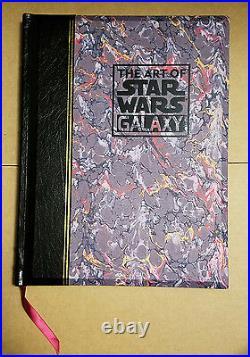 The ART of STAR WARS GALAXY Gary Gerani George Lucas #928/1000 14 signatures HOT