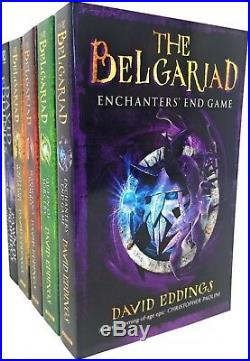 The Belgariad Series Collection David Eddings 5 Books Set Pawn Of Prophecy(RHCP)