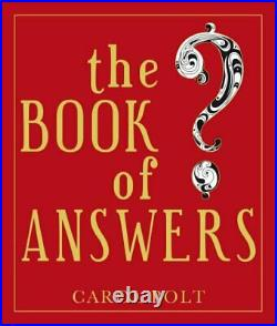 The Book Of Answers by Bolt, Carol Hardback Book The Cheap Fast Free Post