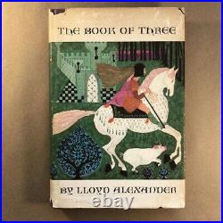 The Book of Three by Lloyd Alexander (Stated First Edition, 1964, Hardcover)