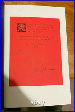 The Book of the New Sun (by Gene Wolfe) Folio Society 2019 SIGNED Wolfe/Gaiman
