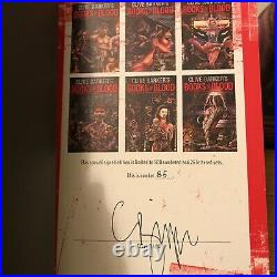 The Books Of Blood, Clive Barker, Limited, 6 Volumes, Subterranean Press, SIGNED