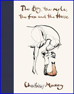 The Boy, The Mole, The Fox and The Horse by Charlie Mackesy Book The Cheap Fast