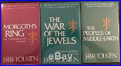 The Complete History Of Middle-Earth Hardcover Books Volumes 1-12