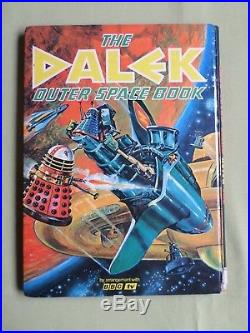 The Dalek Outer Space Book Dr Who Tv Tie- In Hardback Book 1966