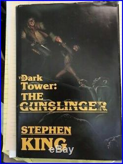 The Dark Tower Book 1 The Gunslinger by Stephen King (1982 Second Edition)