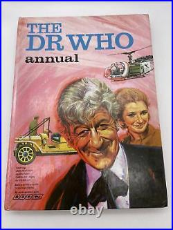 The Dr Who Annual 1971 Rare Pink Cover Edition