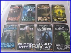The Dresden Files #1-15 Book Series by Jim Butcher (Mass Market Paperback)